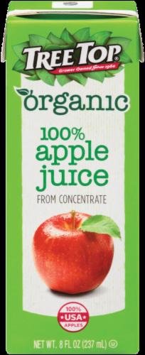 Tree Top Organic 100% Apple Juice Perspective: front