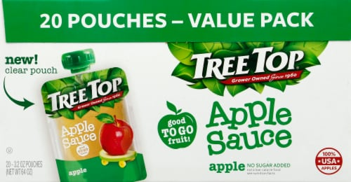 Tree Top Apple Sauce Perspective: front