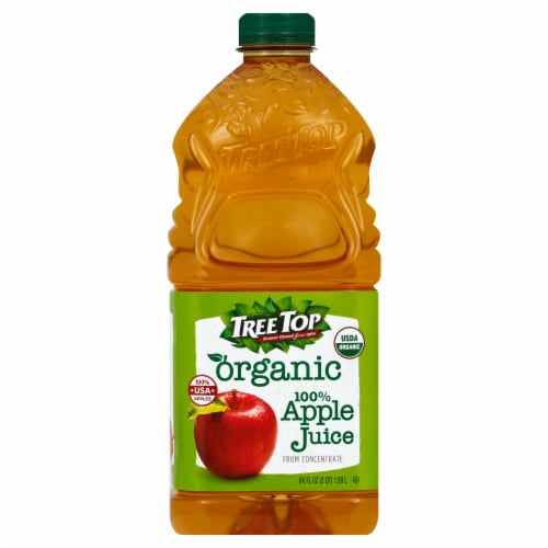 Tree Top Organic Apple Juice Perspective: front