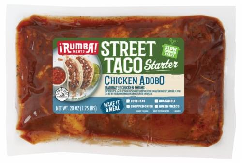 Rumba Meats® Chicken Abodo Street Taco Starter Perspective: front