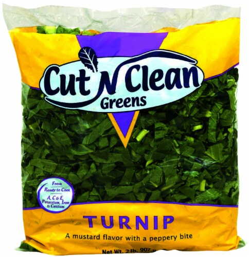 Cut 'N Clean Turnip Greens Perspective: front