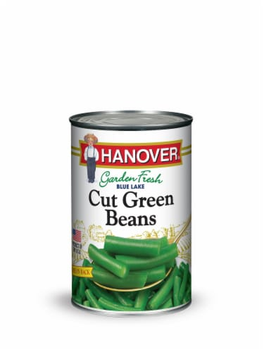 Hanover Blue Lake Cut Green Beans Perspective: front