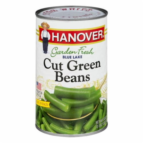 Hanover Garden Fresh Blue Lake Cut Green Beans Perspective: front
