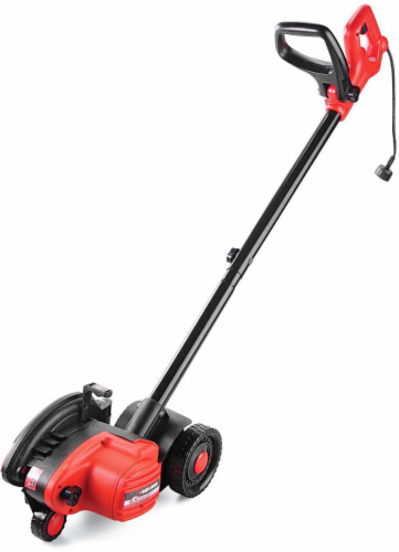 BLACK + DECKER LE750 2-In-1 Landscape Edger and Trencher - Black/Red Perspective: front