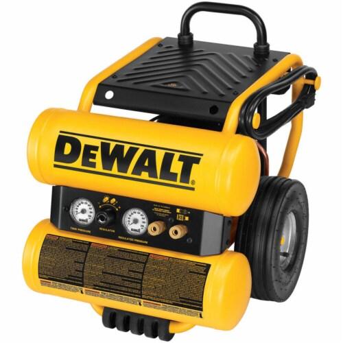 DeWalt® Twin Stack Portable Air Compressor 125 psi 1.1 hp Perspective: front