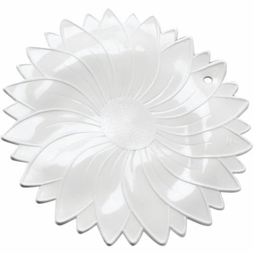 Norpro White Non-Slip Rubber Jar Opener Perspective: front
