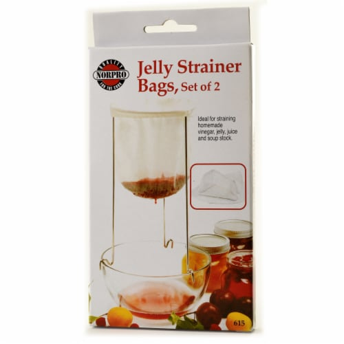 Jelly Strainer Bags 2 Pack Perspective: front