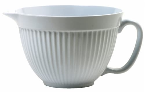 Norpro Easy Grip Mixing Bowl - White Perspective: front