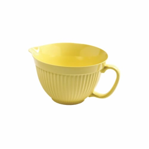 Norpro Mixing Bowl - Yellow Perspective: front