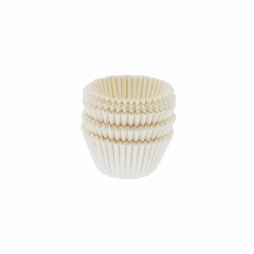 Norpro 100 Count White Mini Muffin Cups Perspective: front