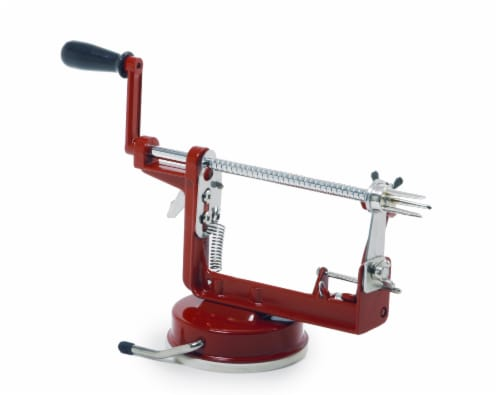 Norpro Apple Master - Red/Silver Perspective: front