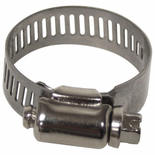 Plumbcraft® Stainless Steel Clamp - Silver Perspective: front