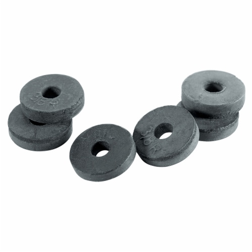 PlumbCraft® Faucet Washers - 6 Pack Perspective: front