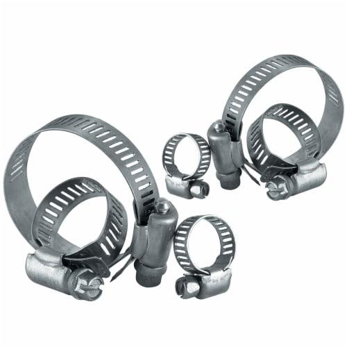 Plumb Craft Waxman Spray Sensations Hose Clamps - Silver Perspective: front