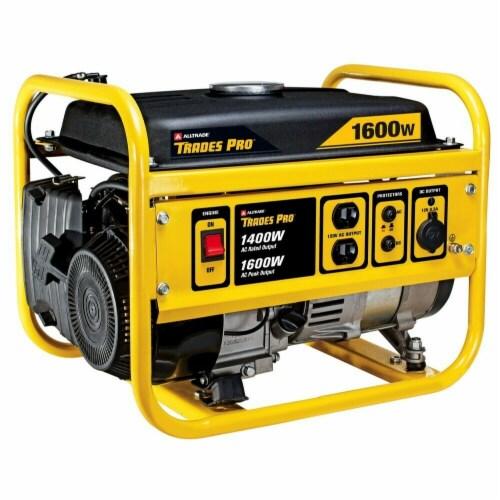 Alltrade Trades Pro 1400W/1600W Gas Generator Perspective: front