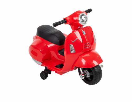 Huffy 6V Mini Scooter - Red Perspective: front