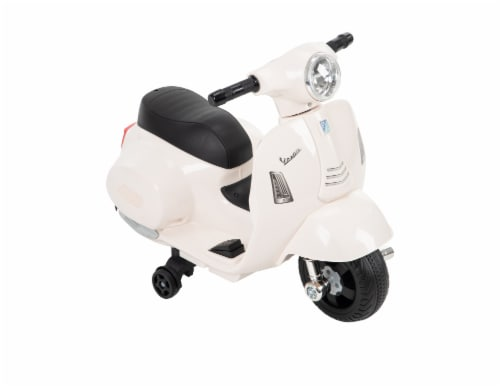 Huffy Vespa - White Perspective: front