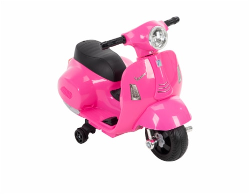 Huffy Vespa Mini Scooter - Pink Perspective: front