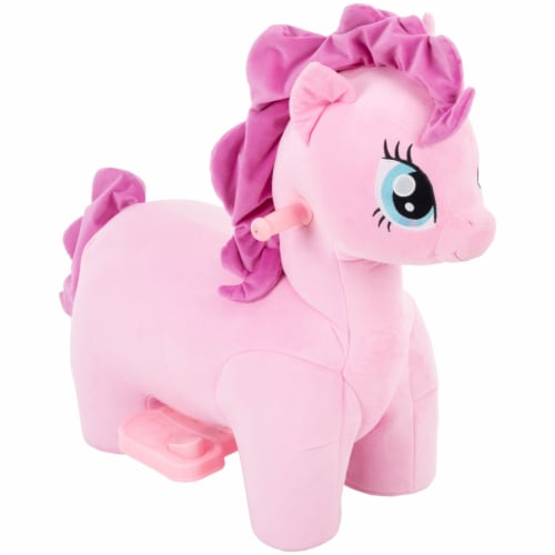 My Little Pony Pinkie Pie Plush Quad Perspective: front