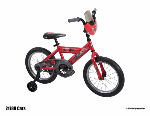 Huffy Disney/Pixar Boys' Cars Bicycle - Flame Red Perspective: front