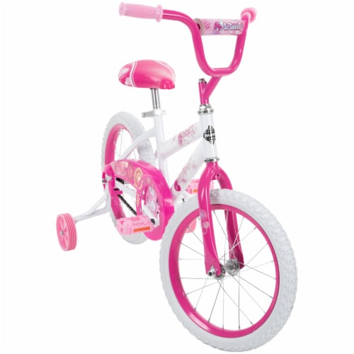 Huffy So Sweet Girls Bicycle - White/Pink Perspective: front