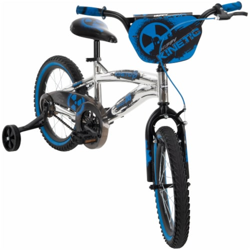 Huffy Kinetic Bicycle - Blue/Black Perspective: front