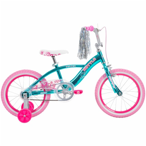 Huffy N'Style Bicycle - Pink/Teal Perspective: front