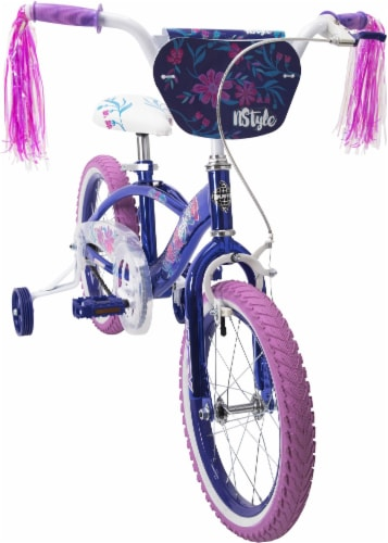 Huffy Girls' N'Style Bicycle - Violet Perspective: front