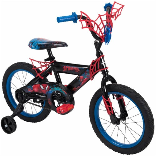Huffy Marvel Spider-Man Boys' Bicycle - Black Perspective: front