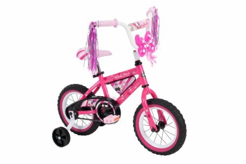 Huffy Minnie Mouse Bicycle - Pink Perspective: front