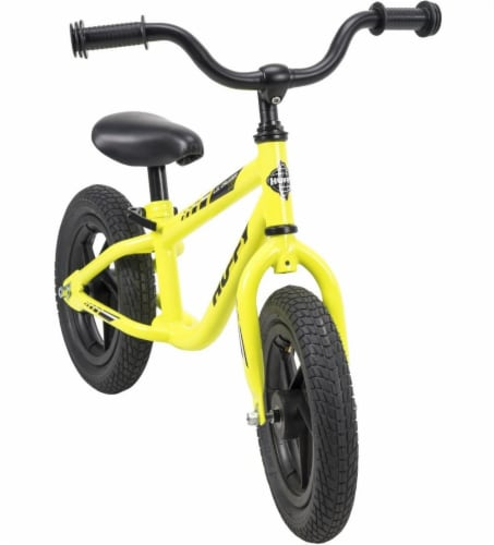 Huffy Lil Cruizer Balance Bike - Neon Yellow Perspective: front