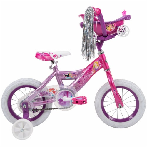 Huffy Girls' Disney Princess Bicycle - Pink/Iris Perspective: front