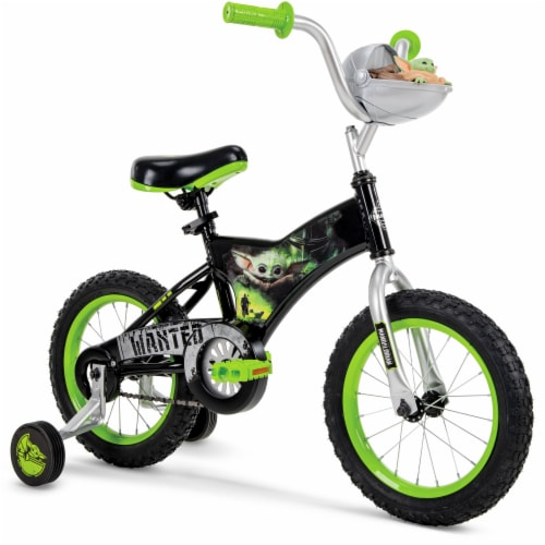 Huffy Star Wars Mandalorian The Child Bike - Black Perspective: front