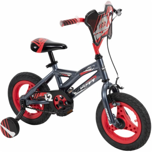 Huffy Mod Bicycle - Red/Black Perspective: front