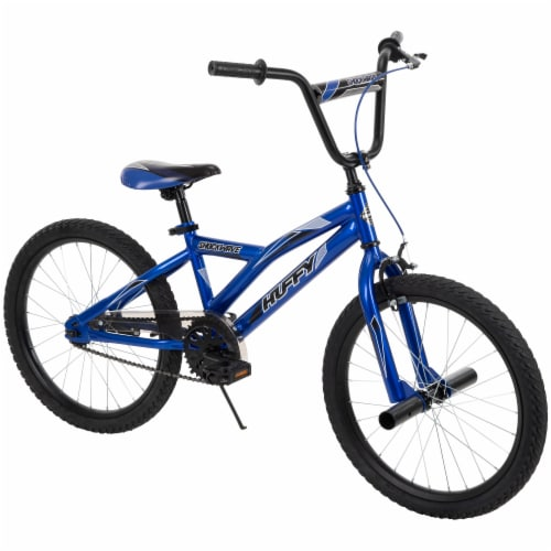 Huffy Shockwave Bicycle - Blue/Black Perspective: front