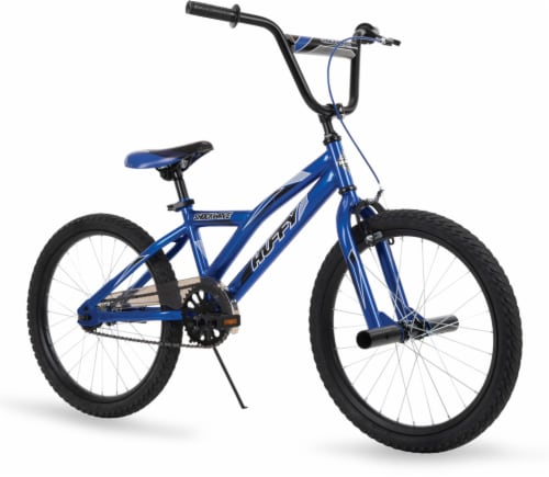 Huffy Shockwave Boys' Bicycle - Neon Red Perspective: front