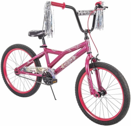 Huffy Glitzy Girls' Bicycle - Strawberry Perspective: front