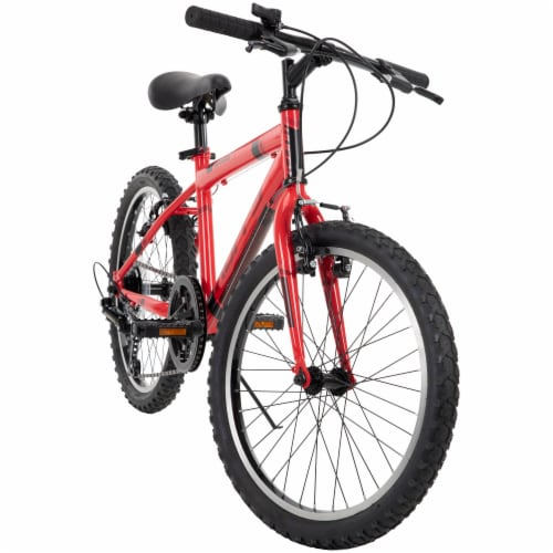 Huffy Boys' Granite Bicycle - Red/Black Perspective: front
