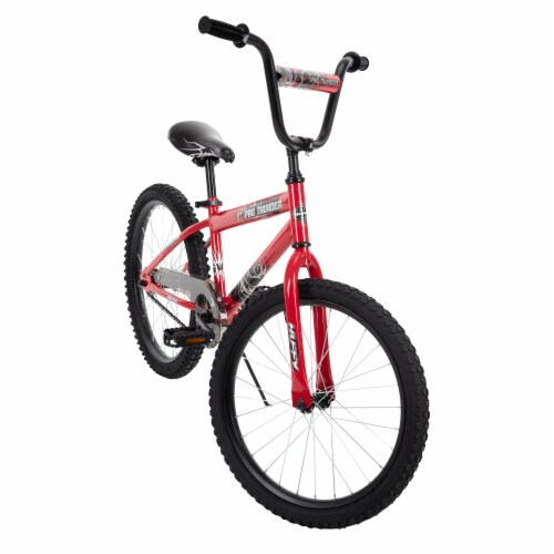 Huffy Pro Thunder Bicycle -  Red/Black Perspective: front