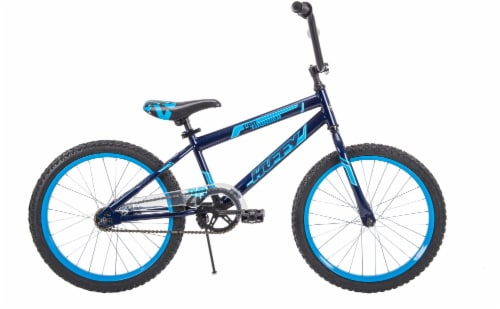 Huffy Pro Thunder Boys' Bicycle - Blue/Black Perspective: front
