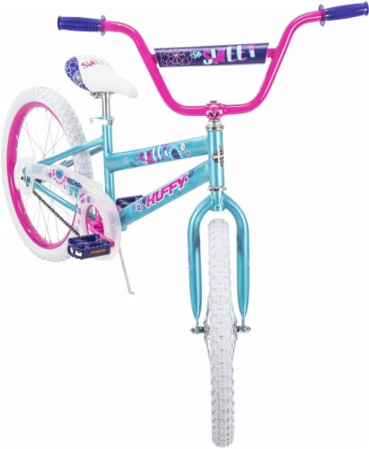 Huffy So Sweet Girls' Bicycle - Metallic Teal/Pink Perspective: front