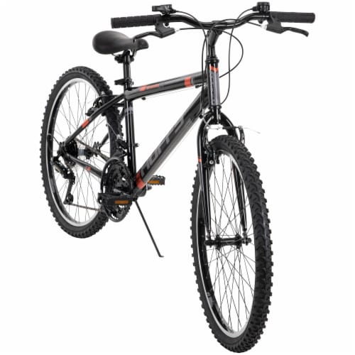 Huffy Boys' Granite Bicycle - Gray/Black Perspective: front