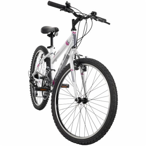 Huffy Girls' Granite Bicycle - Gray Perspective: front