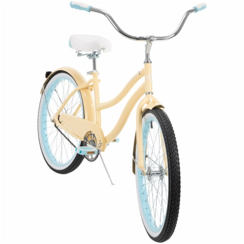 Good Vibrations Womens Cruiser Bicycle - Soft Vanilla Perspective: front