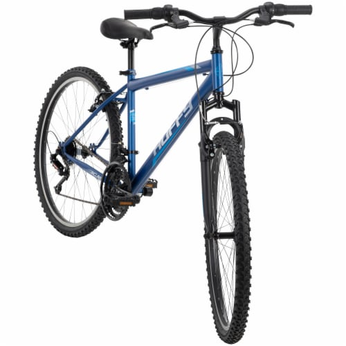 Huffy Mens' Incline Bicycle - Blue Perspective: front