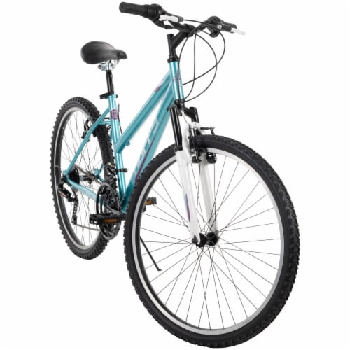 Huffy Ladies' Incline Bicycle - Blue Perspective: front