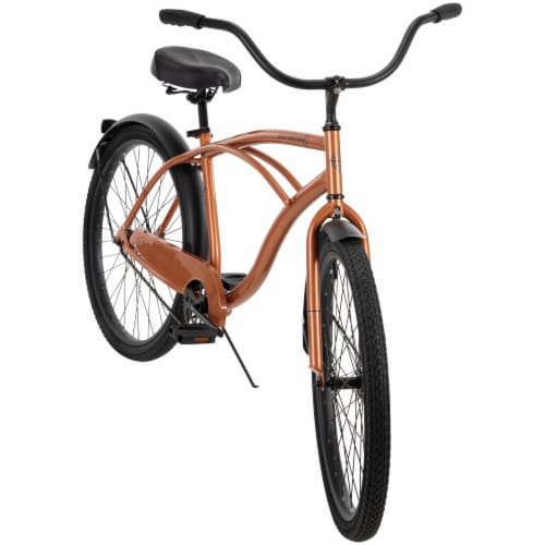 Huffy Men's Good Vibrations Cruiser Bike Perspective: front