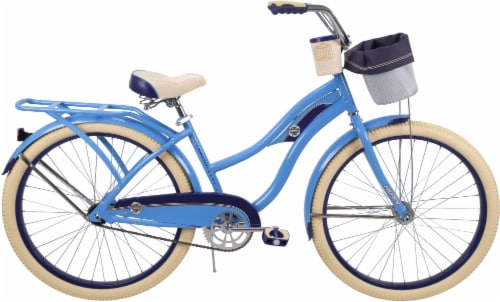 Huffy Deluxe Women's Bicycle - Gloss Periwinkle Perspective: front