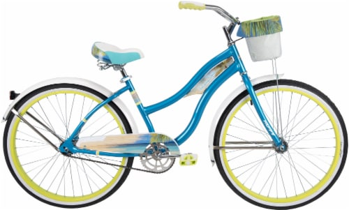 Huffy In-Line Panama Jack Ladies' Bicycle - Ultra Blue Perspective: front