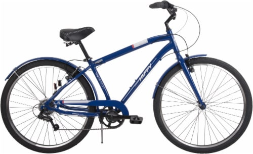 Huffy Casoria Men's Bicycle - Imperial Blue Perspective: front
